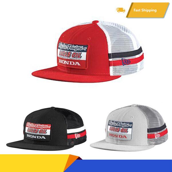 Mũ Hip-Hop HONDA Troy Lee Designs, Mũ Bóng Chày, Mũ Dầu LUCAS Phong Cách Cổ Điển # TXktm03