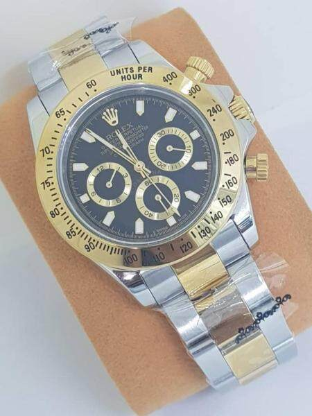 ROLEX_OYESTER DATE JUST AUTOMATIC WATCH FOR MEN Malaysia