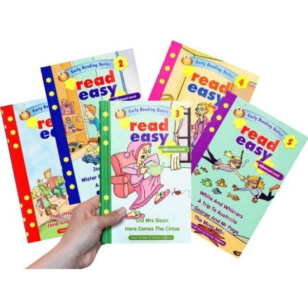 Early Reading Series Read Easy Advanced Level (5 BOOKS) Malaysia