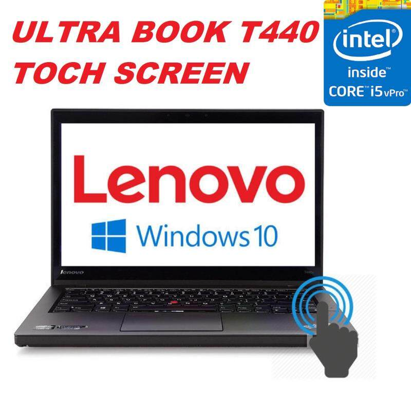 (REFURBISHED)LENOVO THINKPAD T440 ,TOUCH SCREEN INTEL CORE i5 4210U V PRO PROCESSOR 1.7 TO 2.4GHZ/8GB DDR3 RAM/240GB SSD /14 LED SCREEN/INTEL HD GRAPHIC/USB 3.0/WIN 8 PRO Malaysia
