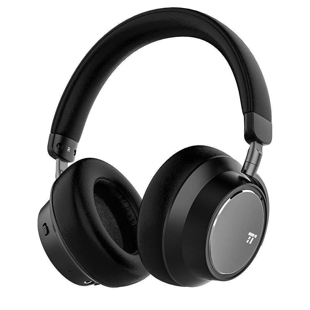 7042a31b31b71c TaoTronics TT-BH046 Hybrid Active Noise Cancelling Headphones [2019 New  Version] Bluetooth Headphones