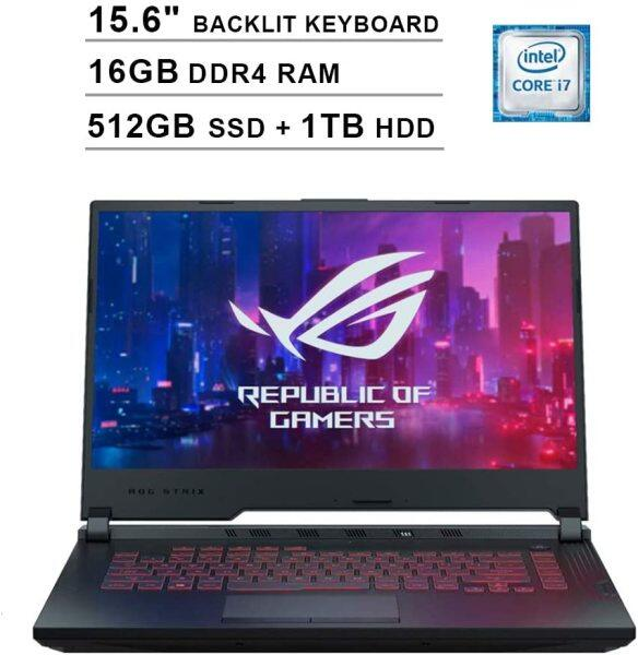 2020 Asus ROG G531GT 15.6 Inch FHD Gaming Laptop (9th Gen Intel 6-Core i7-9750H up to 4.50 GHz, 16GB DDR4 RAM, 512GB SSD + 1TB HDD, GeForce GTX 1650, RGB Backlit Keyboard, Windows 10) Malaysia