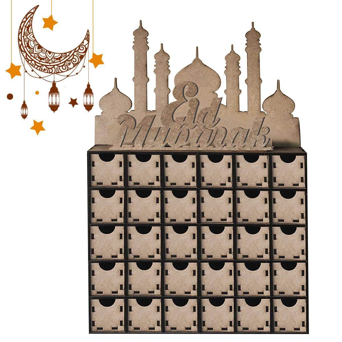 Ramadan Kalender MDF Eid Mubarak 30 Tage Ramadan Muslim Islam Adventskalender