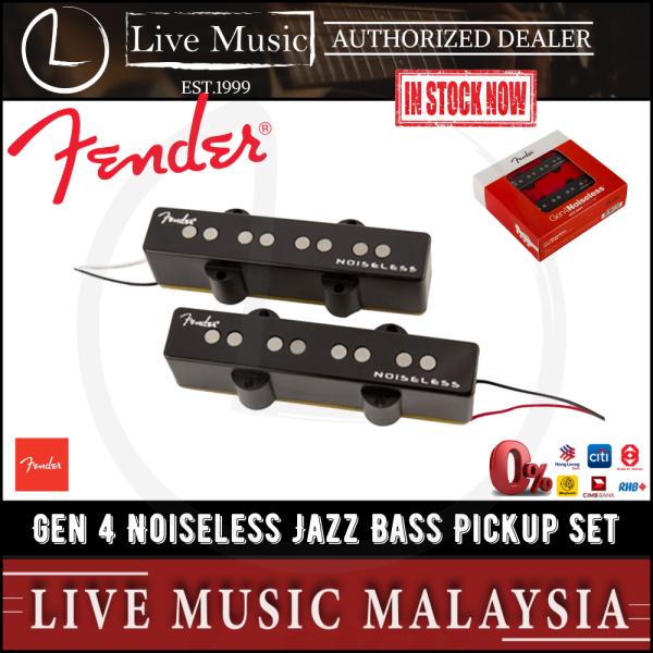 Fender Gen 4 Noiseless Jazz Bass Pickup Set Malaysia