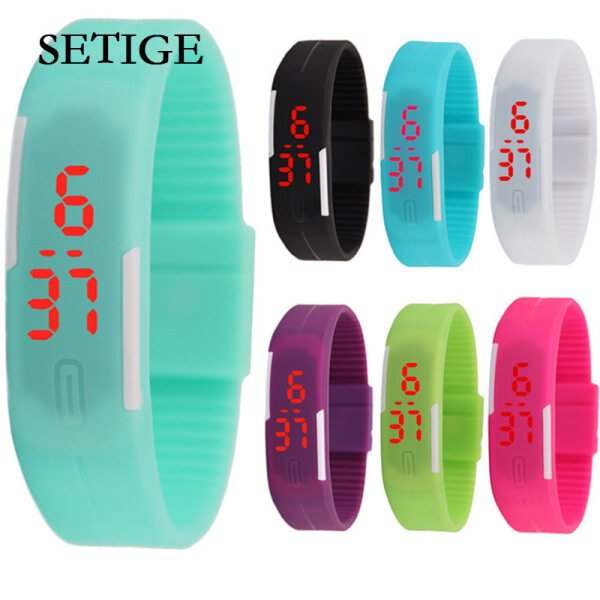 SETIGE Kids Watch Strap LED Bracelet Watch Fashion Touch Childrens Generation Electronic Student Gift Watch Malaysia