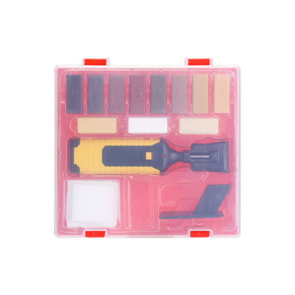 Laminate Repairing Kit Wax System Floor Worktop Sturdy Casing Chips Scratches Mending Tool Set