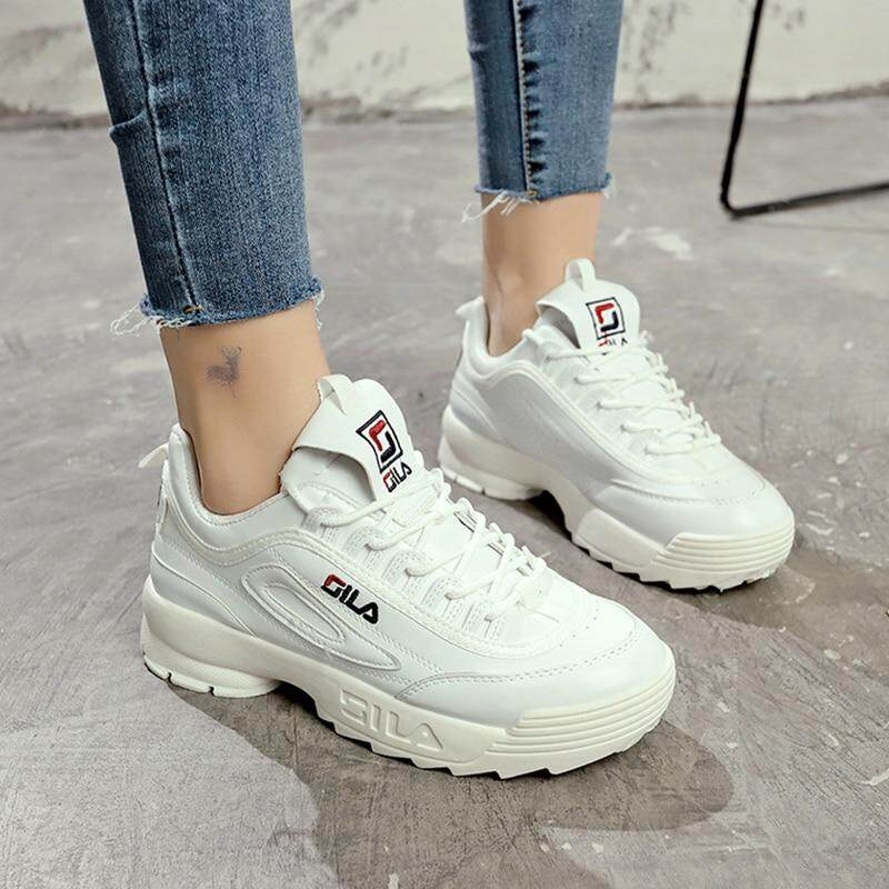 Malaysia. Fila Women casual shoes women Spring 2019 autumn shoes women s  sneakers fashion flats b65dc1a883
