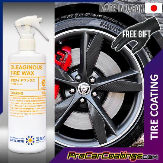 Sensha Oleaginous Tire Wax 400ML Oil Based Tire Coating [OFFICIAL]