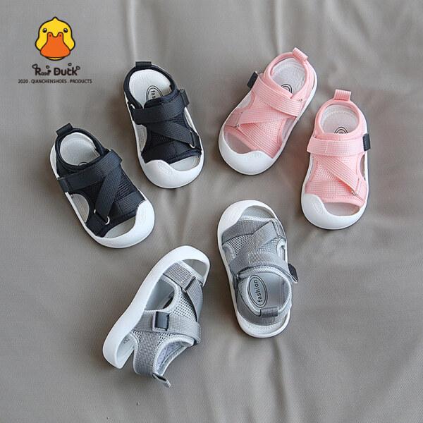 Giá bán Mùa Hè Mới Trẻ Em Dép Bé Trai Giày Cho Trẻ Mới Biết Đi Nữ Bé Giày Em Bé Đế Mềm Không Trơn Trượt