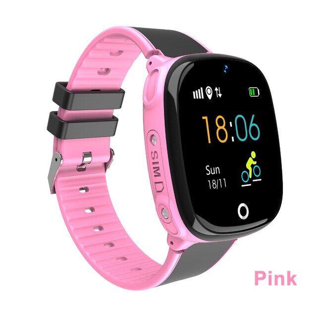 Đồng Hồ Thông Minh GPS HW11 Trẻ Em Không Thấm Nước Smartwatch Pedometer Đồng Hồ Thông Minh Thiết Bị Theo Dõi GPS An Toàn Cho Trẻ Em Gọi SOS Đồng Hồ Thông Minh Trẻ Em 2G
