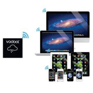 VODOOL I-BOX Bộ Nhớ Wi-Fi Có Wifi, Hỗ Trợ Thẻ TF Dành Cho Điện Thoại thumbnail