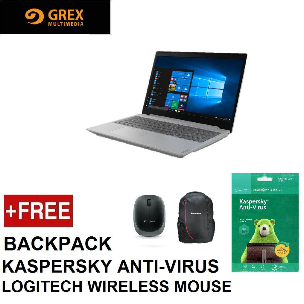 LENOVO LAPTOP L340-15API 81LW0091MJ (RYZEN3 3200U,4GB,256GB SSD,15.6 ,VEGA 3,WIN10 HOME,PRE-INSTALLED OFFICE H&S,1YR ON-SITE WTY) FREE : BACKPACK + LOGITECH WIRELESS MOUSE + KSPSKY ANTI-VIRUS Malaysia