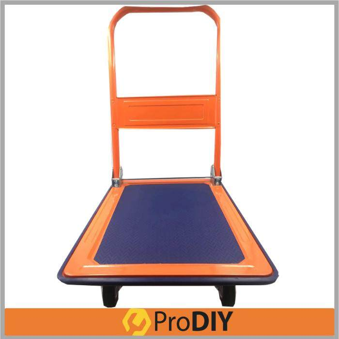 150KG 4-Wheel Metal Foldable Platform Hand Truck Trolley
