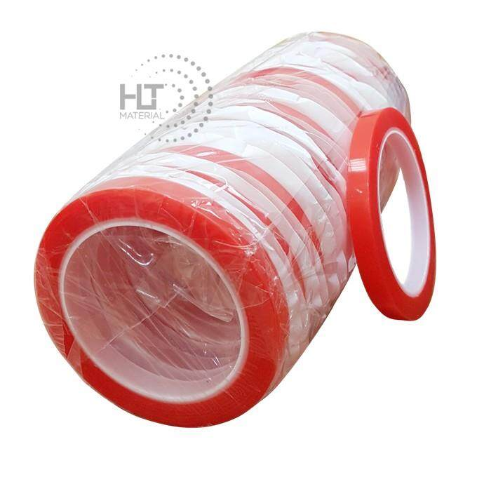 DOUBLE SIDED TAPE PET 10mm x 10m (24 ROLLS X 1 TUBE) / HIGH TEMPERATURE AUTOMOTIVE FOAM TAPE