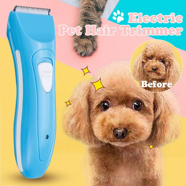 Fuwen®3W Điện Họa Tiết Cún Cưng Mèo Tăng-đơ Tóc Cutter Clipper Dụng Cụ Chải Lông Với Comb