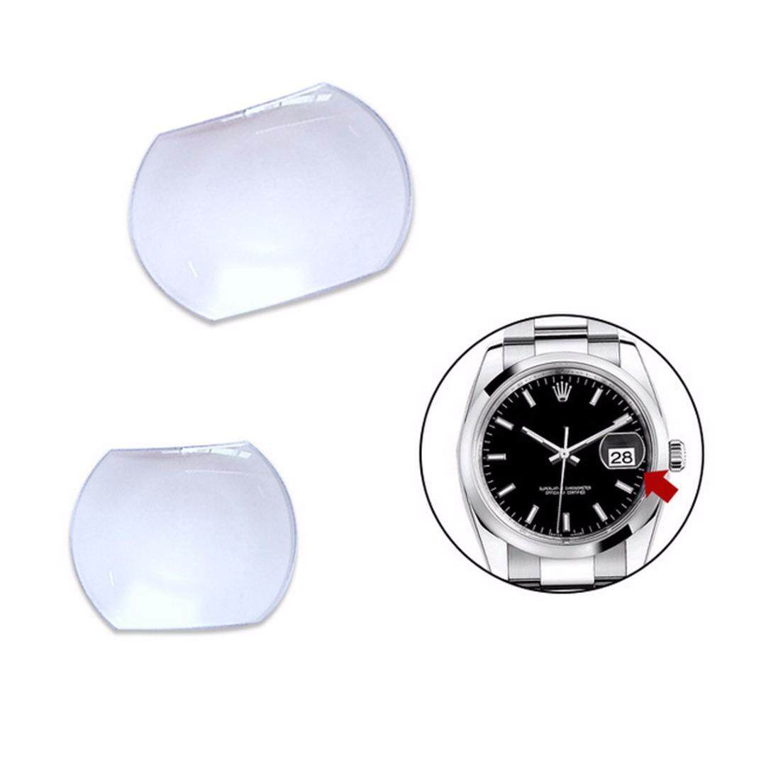 SAINIO Sapphire Bubble Magnifier Lens for Date Window Watch Crystal Glass 2 Sizes (NOT INCLUDE THE OTHER THINGS) Malaysia