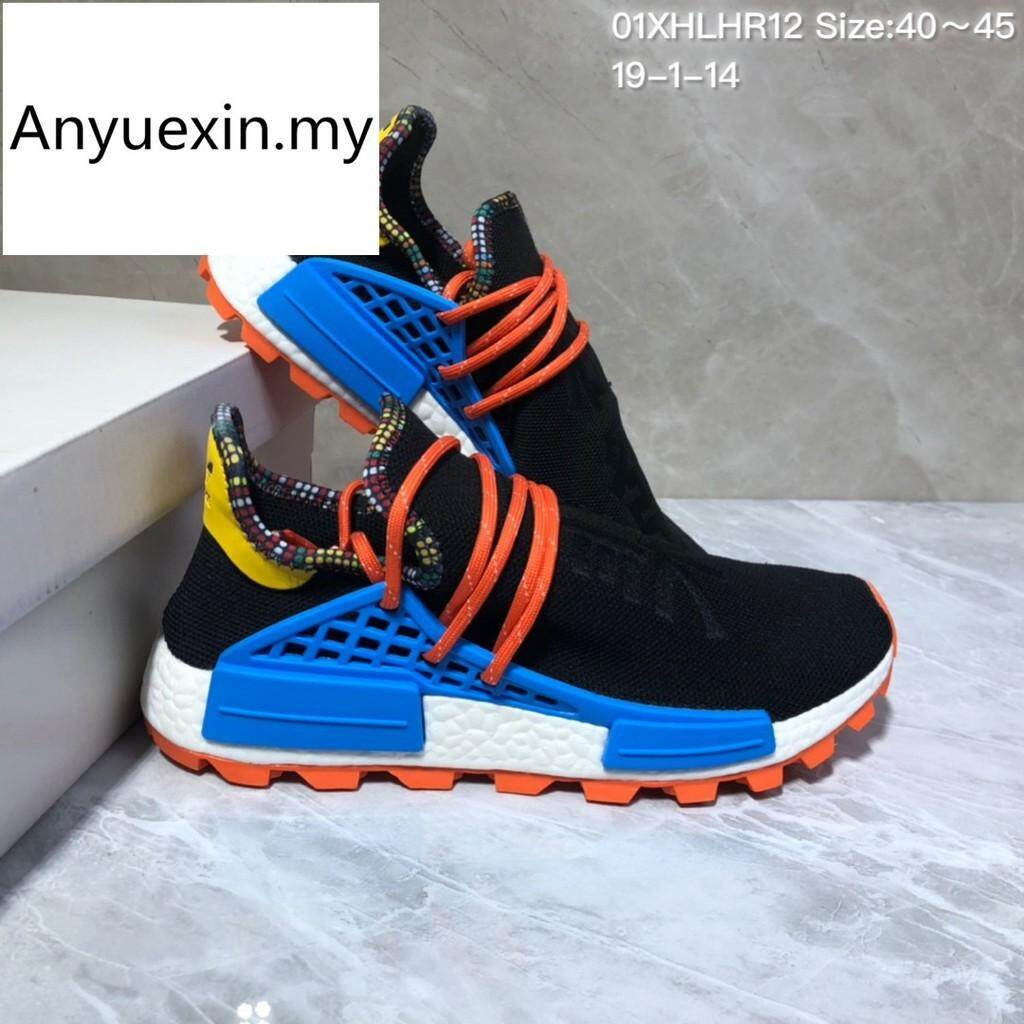 pretty nice ef2c0 bfb3f Ready Stock 3colors ADIDAS Human Race NMD men running shoes 1835595018