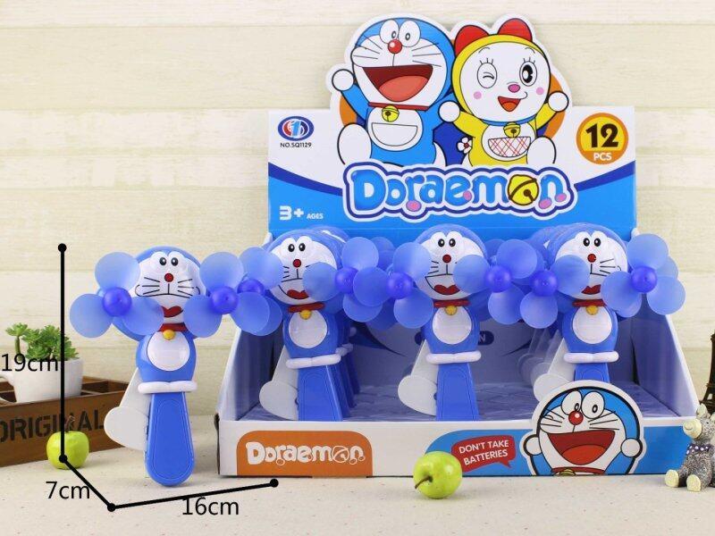 Doraemon Phim Hoạt Hình Sáng Tạo Trẻ Em Quạt Ép Tay Trẻ Em Đồ Chơi Cầm Tay Quạt Nhỏ Cầm Tay Quạt Làm Mát Cá Nhân