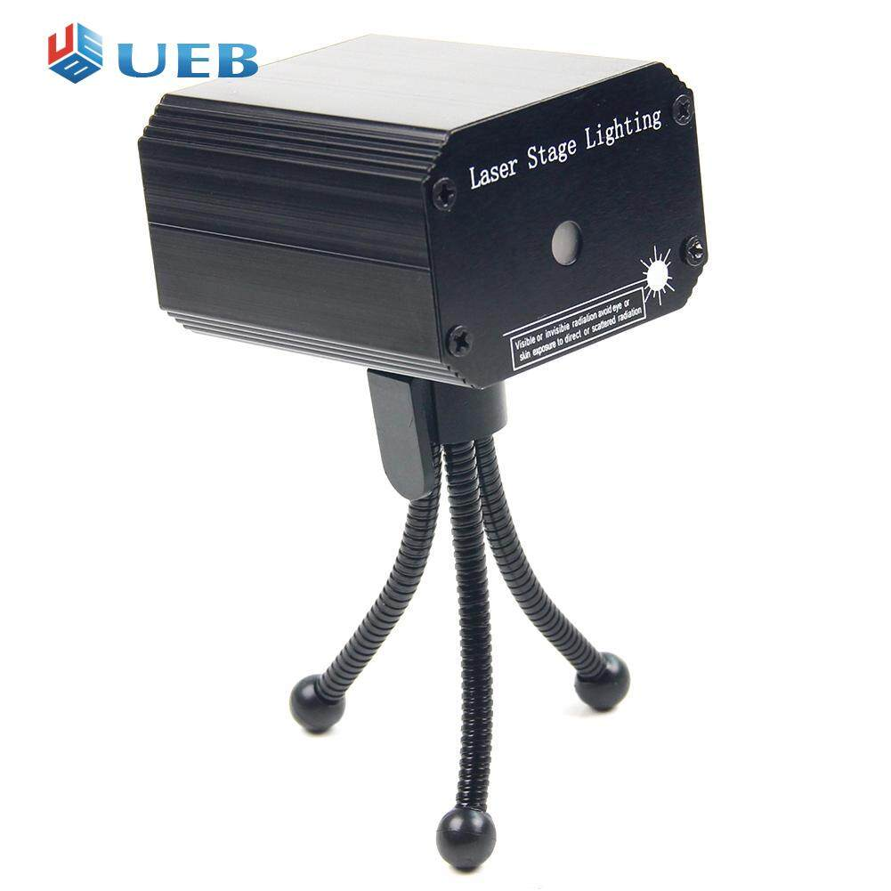Mini Laser Projector Stage Light Voice-activated Car KTV Party Club Light