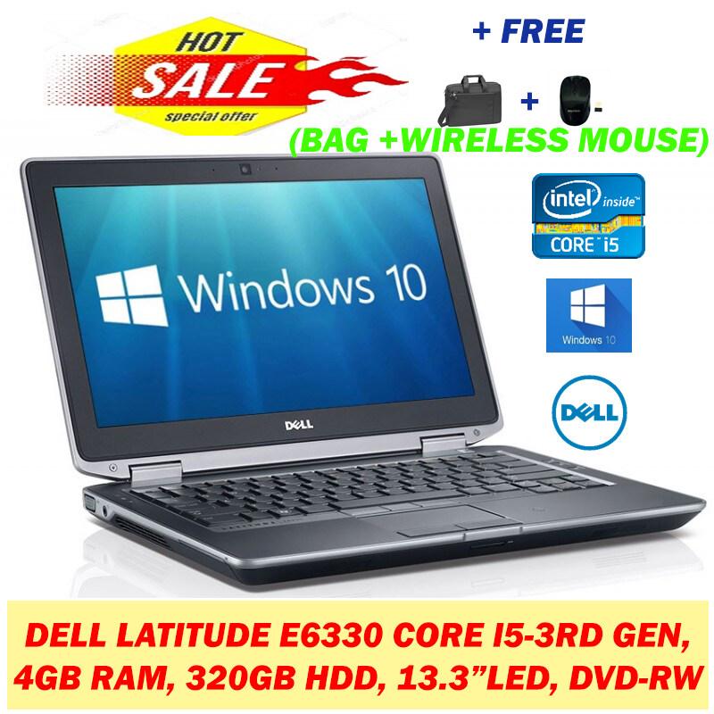 DELL LATITUDE E6330 (CORE I5-3RD GEN, 4GB RAM, 320GB HARDDISK, 13.3    HD SCREEN) Malaysia