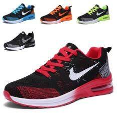 Giày chạy bộ thời trang cho nam, buộc dây, thể thao, bền bỉ – INTL