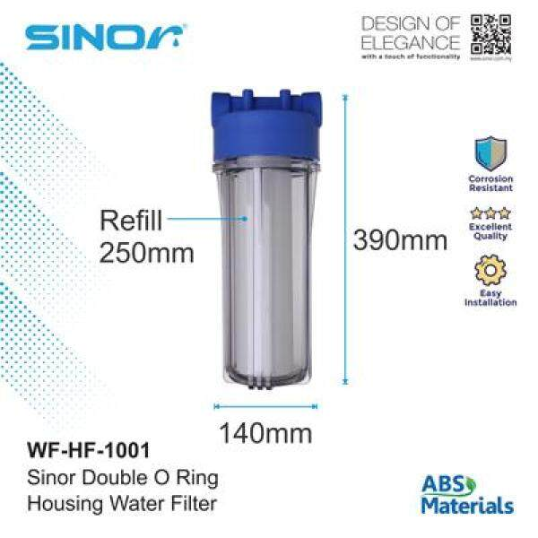 Sinor WF-HF-1001 Double O-Ring Housing Water Filter