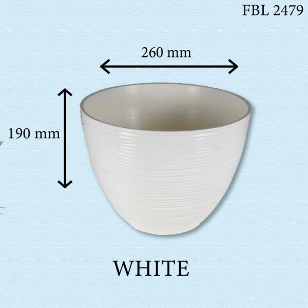 GNC - FELTON Round Flower Pot 2479 Pasu Bunga dan Sayur