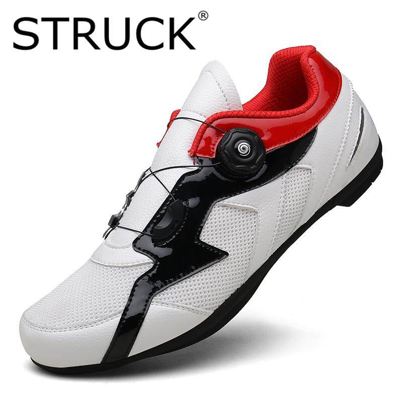 ab1299caf STRUCK Outdoor Men s Cycling Shoes Bicycle Shoes Non-Locking Power Bicycle  Shoes Spin Buckle