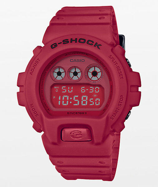 Jam Tangan Unisex_Casio_G_Shock Redout DW 6900 35th Anniversary[Cermin KACA] Skali Free Perfume Gift (DW-5635C-4, DW-5735C-4, DW-6935C-4) Malaysia