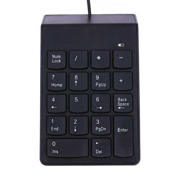 New USB Mini 18-keys Num Pad Numeric Number Keypad Keyboard for Laptop Note Singapore