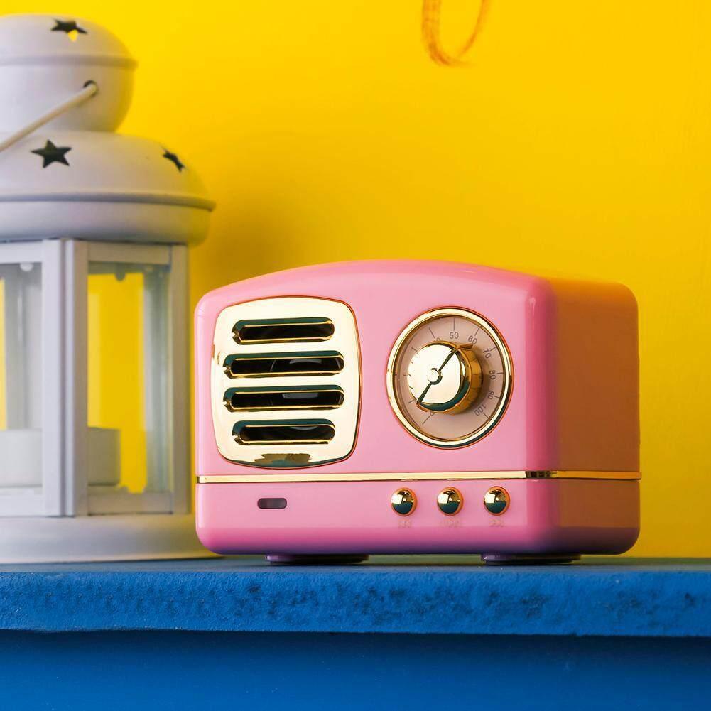 Vintage Mini Bluetooth Speaker 3D Stereo Surround HiFi Sound Effect Player Malaysia