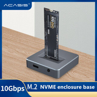 Acasis NVME to USB Adapter M.2 SSD to Type A Card No Cable Clone High Performance 10Gbps USB 3.1 Gen 2 Bridge Chip Use as Portable SSD USB to M2 SSD Key M Support Windows XP 7 8 10 thumbnail