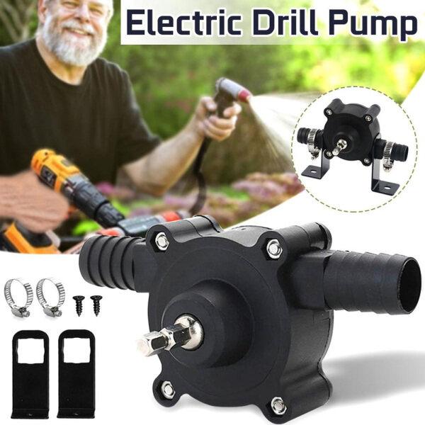 Portable Heavy Duty Outdoor Liquid Fluid Home Transfer Pump Self Priming Water Pump Electric Drill Pump