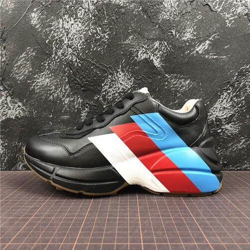 3e58f42aba5 Gucci Official MENS Sports Sneakers Shoes Global Sales Rhyton Vintage  Trainer Sneaker (Size 40