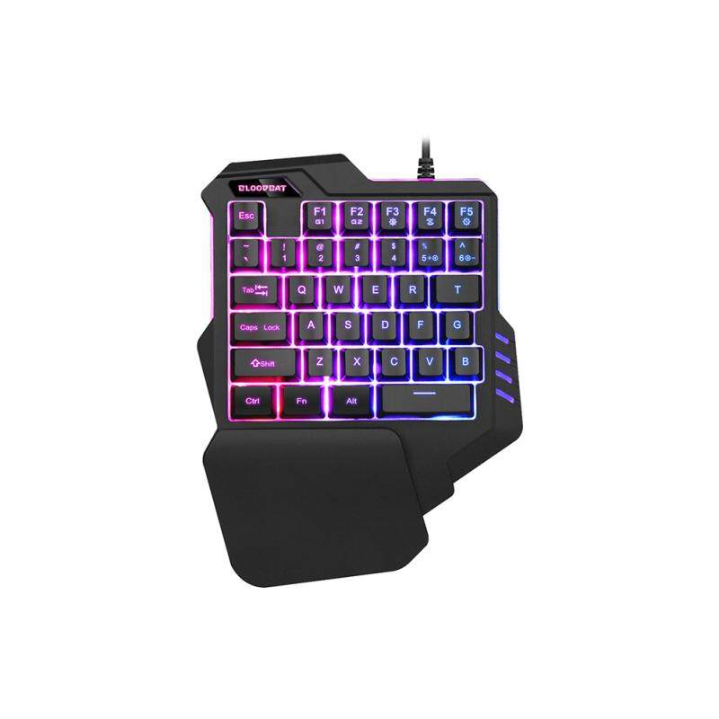fcea95de3a7 Gaming Keyboard 3 Colors Mixed Backlit Single-Hand Mini Control Keypad  Keyboard For Laptop Computer