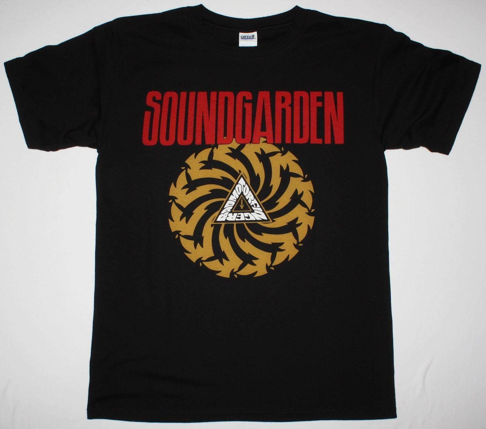 c8eafa34 Soundgarden Badmotorfinger'92 Audioslave Grunge Seattle Band Sports  Bodybuilding Sportswear 100% Cotton Men'S T