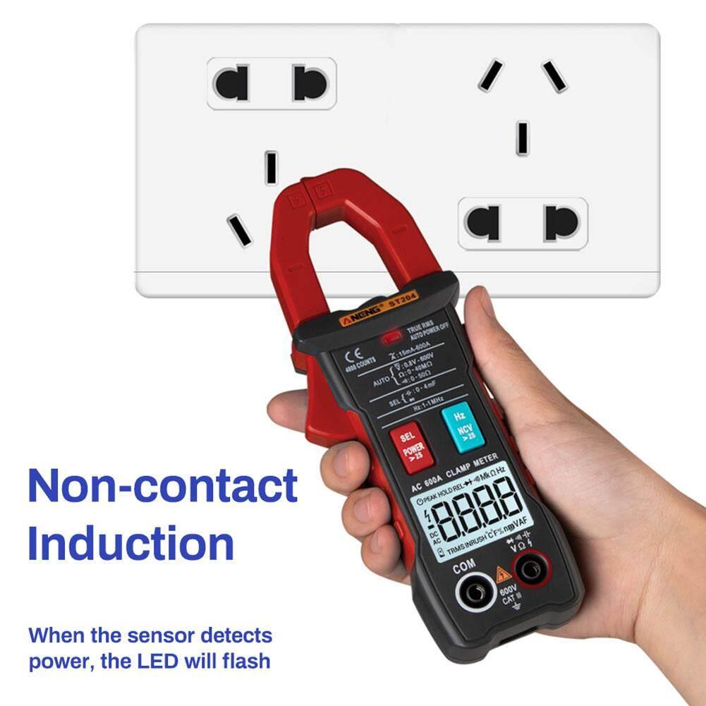 Laputa ST204 4000 Counts Auto Digital DC/AC Current Voltage Clamp Meter Multimeter