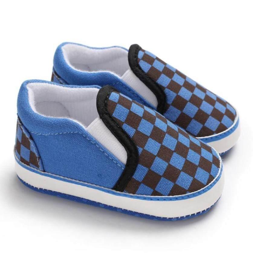 Giày bé Trai Trẻ Sơ Sinh Đầu Tiên Xe Tập Đi Bọc Chống Trượt cứng Đế Tập Đi Cho Bé Giày Bán cho 0-18M Đế giày Vải Sneaker giá rẻ
