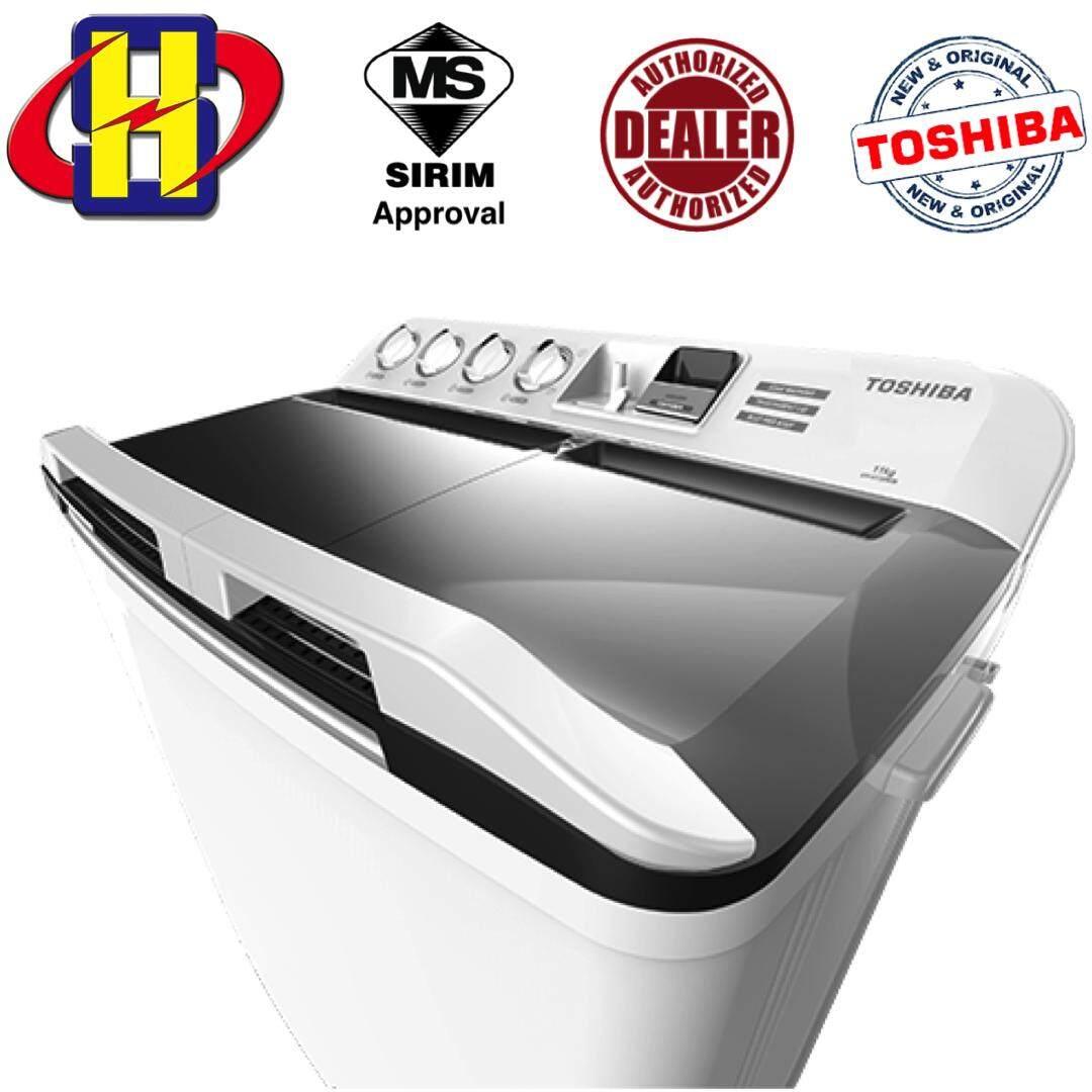 Toshiba Semi Auto Washing Machine VH-H120WM 11.0 KG Washer Semi Auto Washing Machine
