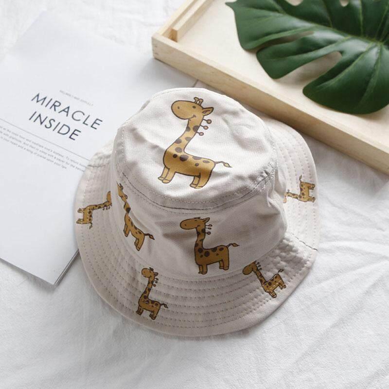 86770414e Cotton Cute Baby Hat Cap Summer Baby Girl Boy Hat Double Sided Can Wear  Infant Toddler Sun Hat Star Prints Bucket Sun Visor Caps