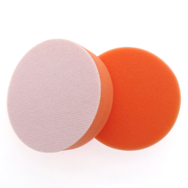 4 inch (100mm) or 5 inch (125mm) Flat Sponge Flat or Wool Velcro Buff Buffing Pad Polishing Pad Kit Car Polisher