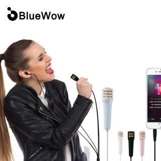 Tai Nghe Karaoke Mini BlueWow S18, Tai Nghe Nhét Tai Có Mic, Tai Nghe Trong Tai Phổ Thông, Có Dây Âm Trầm Lớn Cho Cuộc Sống Vlog thumbnail