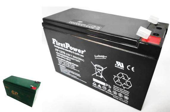 FIRST POWER12V 7AH Rechargeable Seal Lead Acid Battery