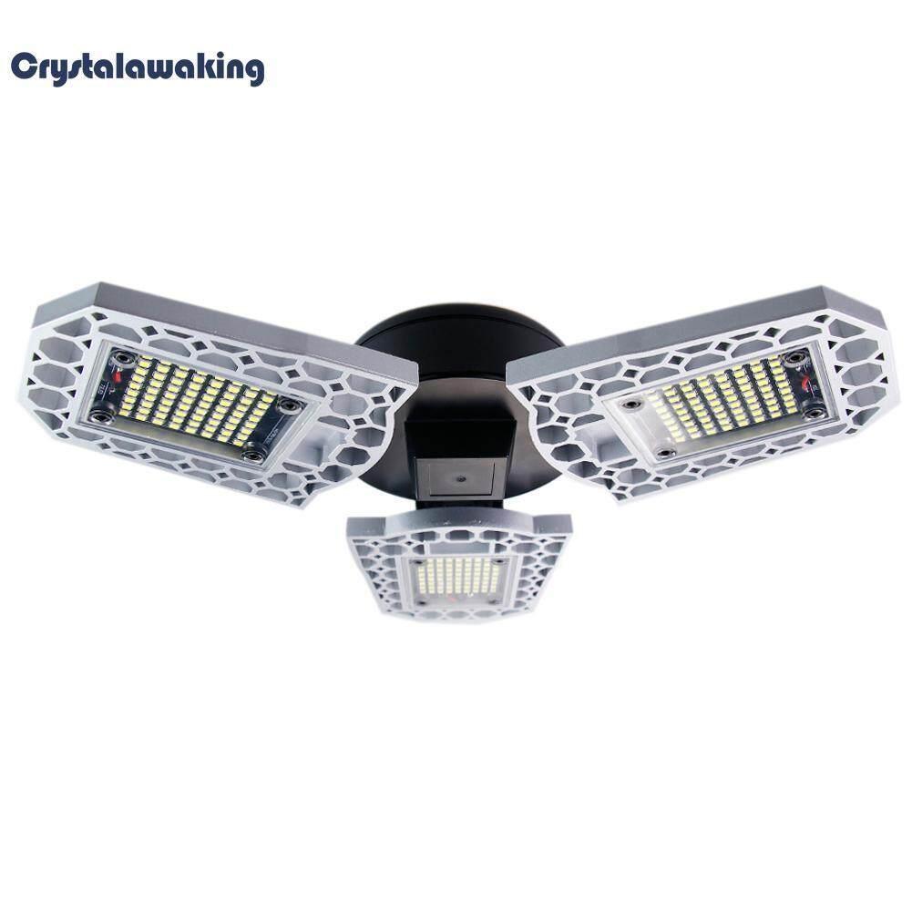 60W Waterproof Deformable Lamp Garage E27 LED High Intensity Workshop Light