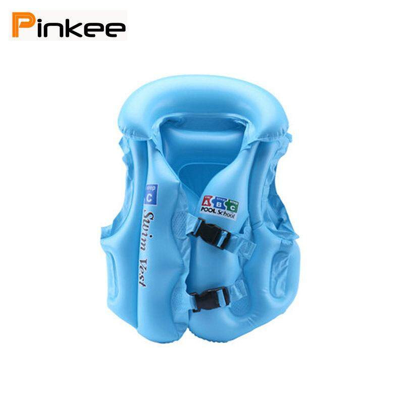 Pinkee Adjustable Children Kids Babies Inflatable Pool Float Life Vest Swiwmsuit Child Swimming Drifting Safety Vests By Pinkee.