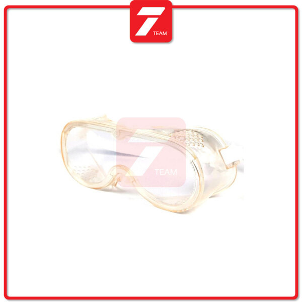 Anti-Impact Anti Chemical Splash Safety Goggles Clear Eye Protection Glasses