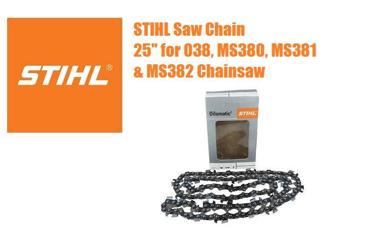 STIHL Saw Chain For 038, MS380, MS381 & MS382 X 25 Inches Bar