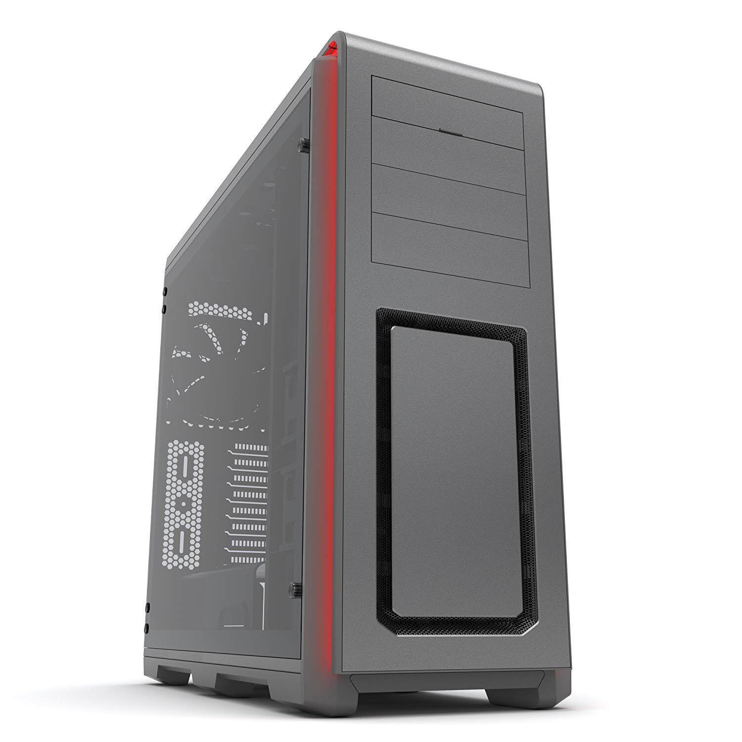 PHANTEKS ENTHOO LUXE TEMPERED GLASS GRAY CHASSIS Malaysia