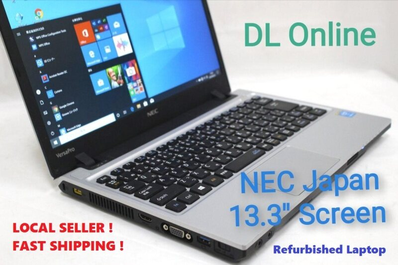 NEC Japan - Laptop Notebook Intel Core i3 with  13.3 Screen [ Refurbished ] Malaysia