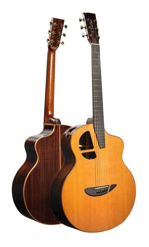L. Luthier Le CR Acoustic Guitar Malaysia